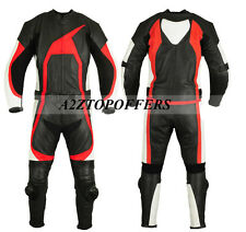 Top Quality Motorbike Motorcycle Racing Leather Suit 1&2 Piece Custom Made Suit