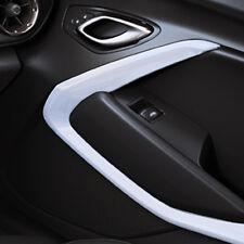 2016 Chevrolet Camaro Genuine GM Interior Door Trim Kit White 23507868