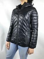 Womens Michael Kors Packable Down Puffer Jacket Bubble Black