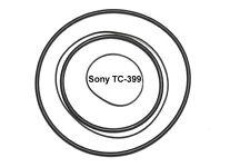 SET CINGHIE SONY TC-399 EXTRA FORTI REGISTRATORE A BOBINE NUOVE FRESCHE TC399