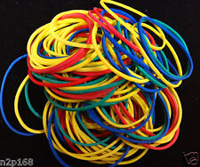 100 PCS Rubber Bands Colorful Rubber Elastic Bands many colors