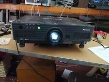 Panasonic PT-DW5100 E ---WXLA 5500 DLP Projector -- with lens (660D)