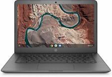 "NEW HP 14"" Chromebook Dual Core up to 2.4GHz 32GB SSD 4GB RAM Radeon R4 - Gray"
