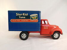VINTAGE TONKA TOYS TRUCK RED CAB AND BLUE BOX STAR-KIST TUNA RARE STUNNING !