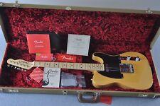 Fender American Original 50s Telecaster Electric Guitar MN Butterscotch Blonde