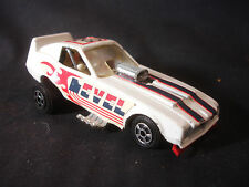 Old Vtg Collectible Diecast #33 Ideal Evil Knievel Toy Funny Car
