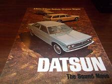 1970 Datsun Sales Brochure