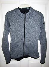 Nike Anthracite Heather Black Therma Hypernatural Zip-Up Training Hoodie Small