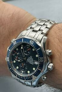 GENUINE Omega Seamaster Professional 178-0514 300m chronograph 41.5mm Mens Watch