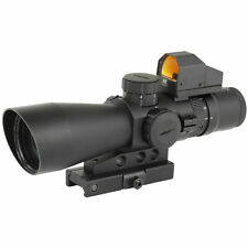 NcStar Mark III Tactical P4 Reticle 3-9X 42 Scope Red Dot Sight STP3942GDV2
