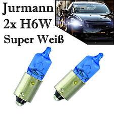 2x Jurmann H6W 12V Super Weiß Hecklicht Rückfahrlicht Parklicht Halogen Birne