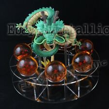 DragonBall Z Shenron (Green) + 7pcs Dragon Balls (4cm) + 1 Set Stand (4cm) Loose