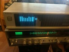 Vintage Technics Stereo Equalizer SH-8046 14 Bands Computer Memory EQ Working