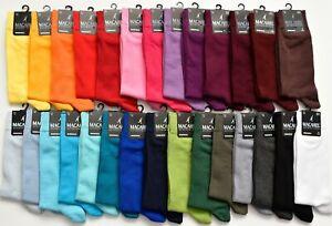 Men 6-11 Fashion Plain Rich Colour Comfortable ANKLE Socks 80% Cotton 29 colours