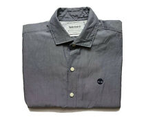 Timberland Mens Shirt Size S Short Sleeve Slim Fit