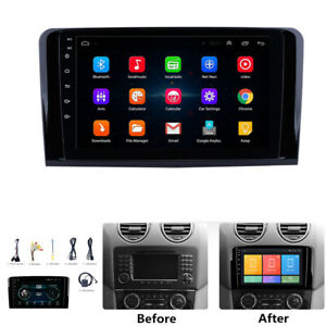 For Mercedes Benz M/GL Class W164 X164 Car Stereo Radio 9'' Android 9.1 2+32GB