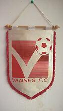 Vintage Fanion Vannes F.C Bretagne Football Foot 30 cm x 18 cm
