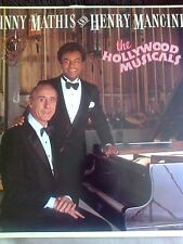 JOHNNY MATHIS AND HENRY MANCINI THE HOLLYWOOD MUSICALS LP 1986