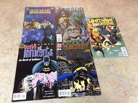 BATMAN LOT OF 5 COMICS NM 1995-1997 DC