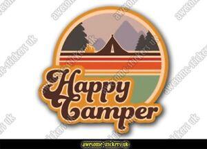 2 x Campervan stickers 004 vinyl decal Vanlife camper adventure motorhome