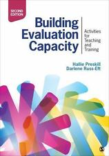 Building Evaluation Capacity by Hallie S. Preskill Paperback Book (English)