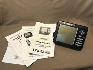 Eagle Ultra Classic Head Unit Sonar & GPS, Head Unit & Paperwork ONLY