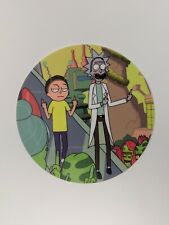 """Rick And Morty 6"""" Mat Round Graphic Mousepad Nonstick Silicone Very High Quality"""
