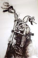 """Harley-Davidson Wall Poster Collectible Art """"street Bob"""" #205"""