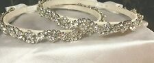 GREEK STEFANA-WEDDING CROWN-SWAROVSKI CRYSTALS/PEARL-CUSTOM MADE-STERLING PLATED