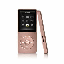 2016 Latest Version a02 Ultrathin 8GB MP3 Music Player 70 Hours Playback Golden