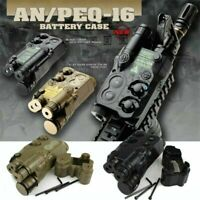AN PEQ-16 Airsoft AEG Extendable Battery Case Dummy Box Case 20mm Rail