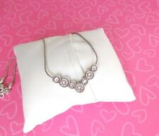 Brighton Necklace INFINITE Infinity Sparkle Bar Petite Dainty NEW 48.00