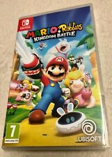 Jeu Nintendo Switch - Mario + The Lapins Crétins Kingdom Battle / Mario+rabbids