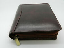 Fountain Pen Case 12  New Oxblood Leather Girologio Branded