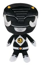 Funko - Funko Power Rangers Black Ranger Plush Toy Vinyl Action Figure Brand New