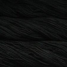 Malabrigo Merino Worsted Aran Yarn / Wool 100g - Black (195)