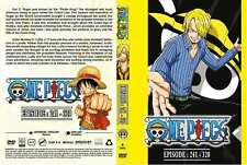One Piece TV Series DVDs Box Set (Episodes 241-320) with English Dubbed