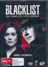 The Blacklist Season 5 Fifth Five DVD NEW Region 4 James Spader