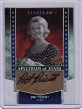 Upper Deck Spectrum Pat Priest DIE CUT autograph auto card #2/25 Marilyn Munster