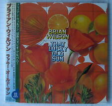 BRIAN WILSON - That Lucky Old Sun REMASTERED JAPAN MINI LP CD NEU! TOCP-70601