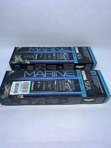 "Fluval Marine 15-24"" 2 PACK  ~ NEVER USED ~ OPEN BOX ~ BRAND NEW"
