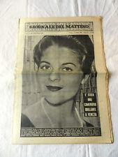 Rivista GIORNALE DEL MATTINO Supplemento della Domenica Anno XV N°232 Ott.1961