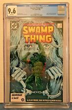 SWAMP THING 51 CGC 9.6 + 52 9.8 WP JC. 3RD APP. JLD, JUSTICE LEAGUE DARK.