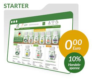 BasisNatur Starterset Webprojekt Geschäftsidee Dropshipping Shop Affiliate