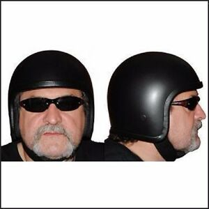 New Low Profile Skull Cap Cannonball Novelty Crash Helmet Sizes XS to 2XL & GIFT