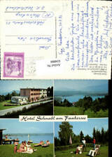 634884,Mehrbild Ak Latschach a. Faakersee Hotel Schnabl Finkenstein am Faaker Se