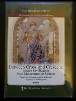 The Great Courses Between Cross and Crescent RARE OOP DVD WITH ORIGINAL CASE