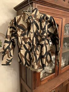 NOS ASAT Youth Classic Series Field Shirt Medium Hunting Sitka Browning 8 - 10