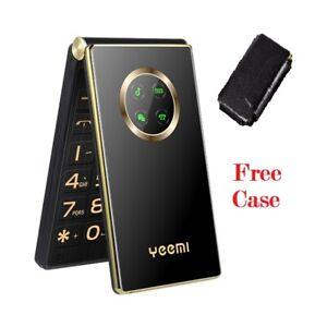 Unlocked Old Man Flip 3G Mobile Phone Touch Screen Senior One Key Dial Dual Sim