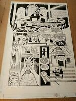 Original comic art interior pages Swamp Thing (vol 3) #1 pg 21 by Roger Petersen